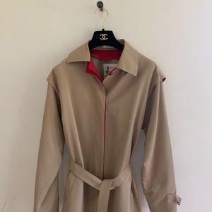 Vintage 90s trenchcoat tan trendy classic